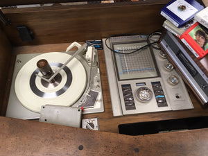 1969 Hi Fidelity Stereo includes 8 Track deck and tapes