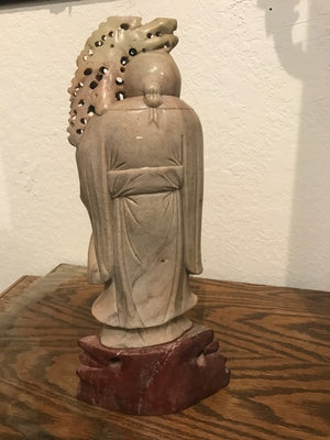 Vintage Wise Man Sculpture