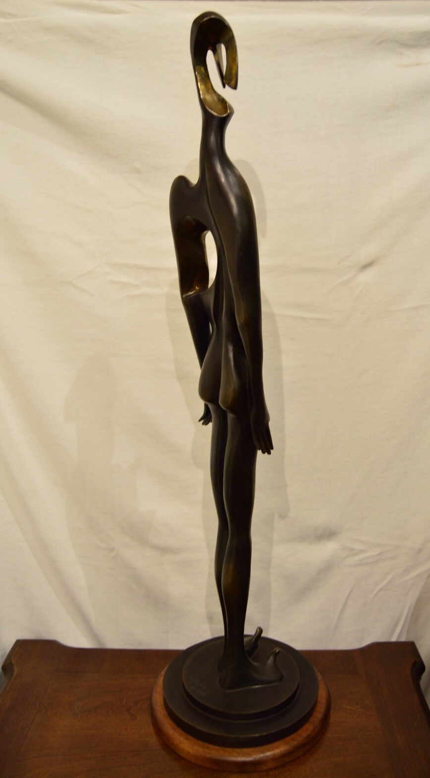 """Infatuation"" Bronze Sculpture - Phil Spanier"