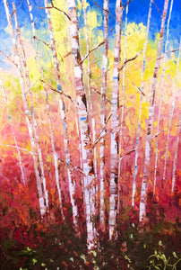"""Aspen Spice"" Original Oil by Tim Kenney"