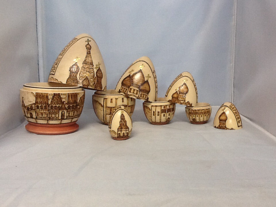 Authentic Russian Nesting Eggs