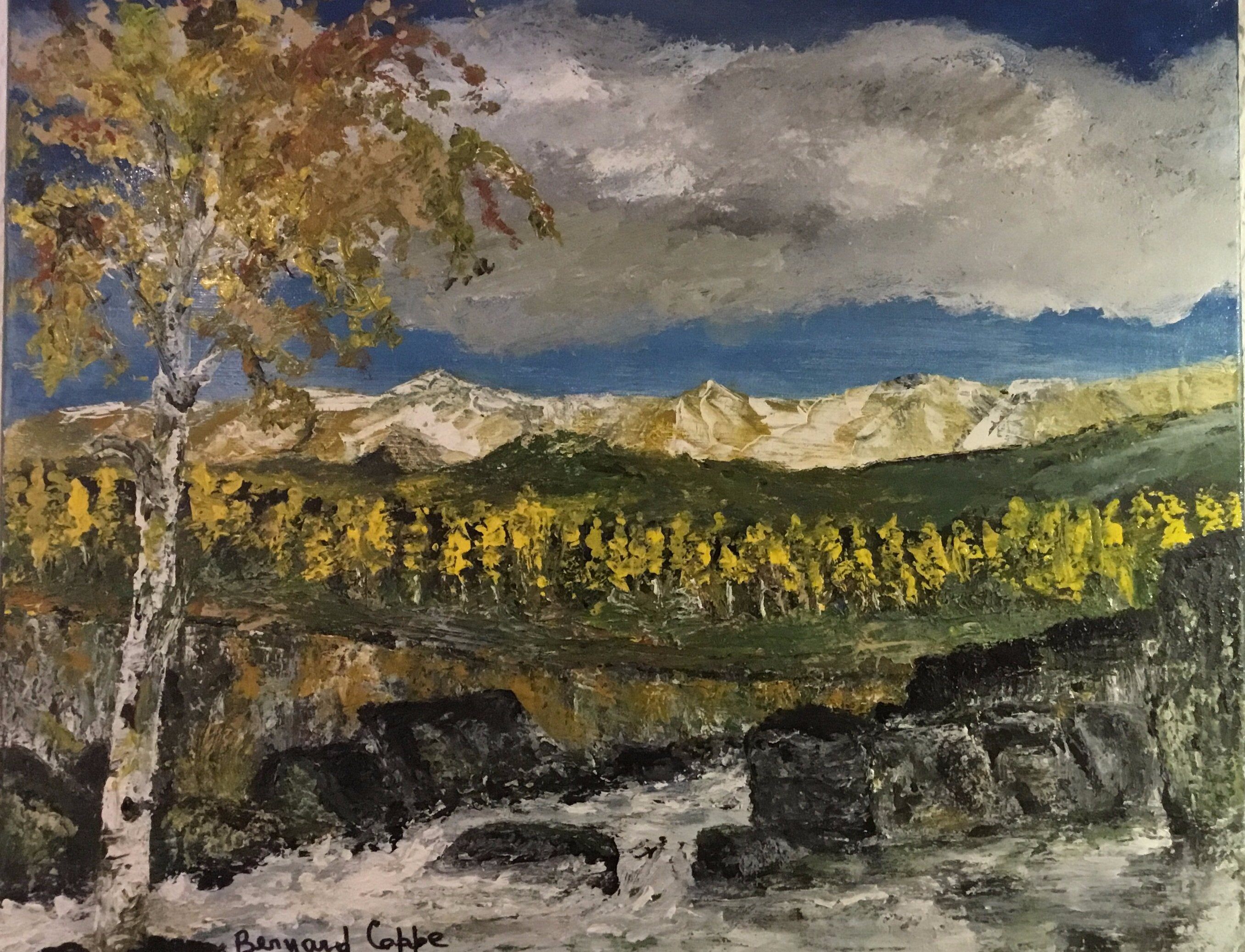 """Aspens Autumn"" - Bernard Coppe"