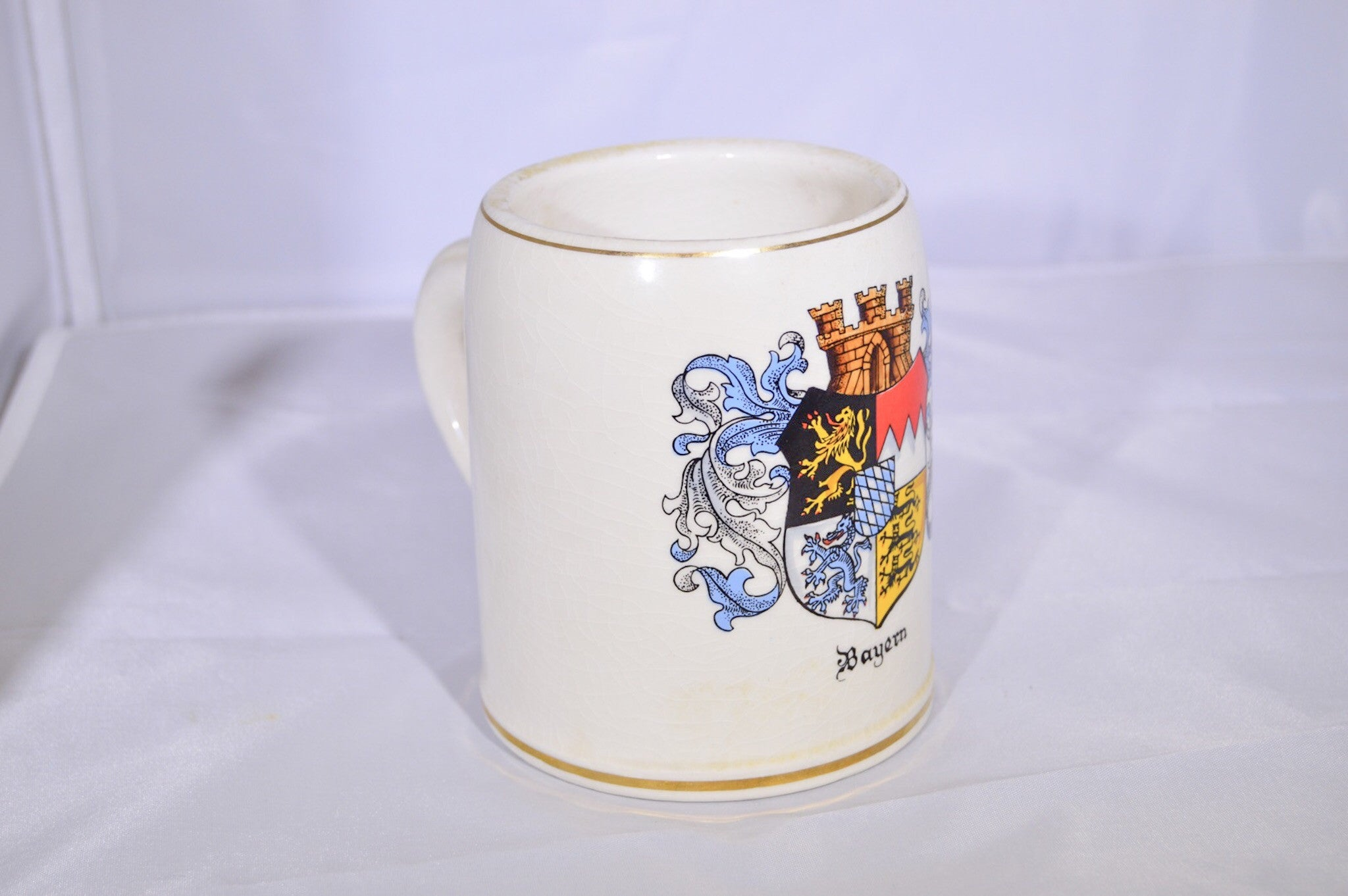 Bayern Hand Painted Beer Stein Mug (Made in Germany)