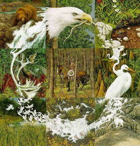 Sacred Circle by Bev Doolittle