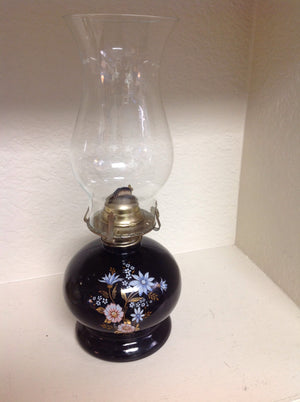 Authentic ceramic oil lamp