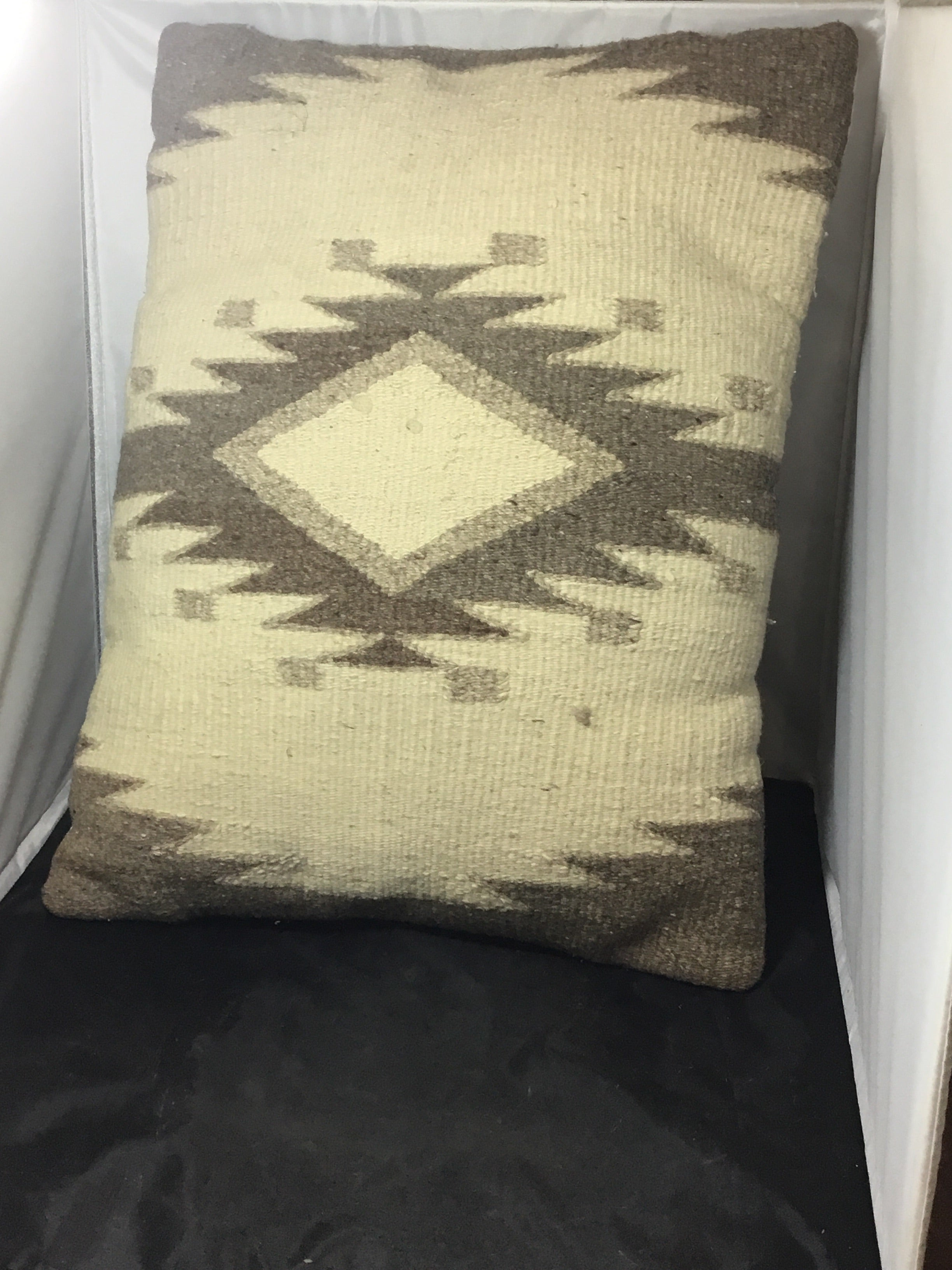 Hand-woven Native American Pillow