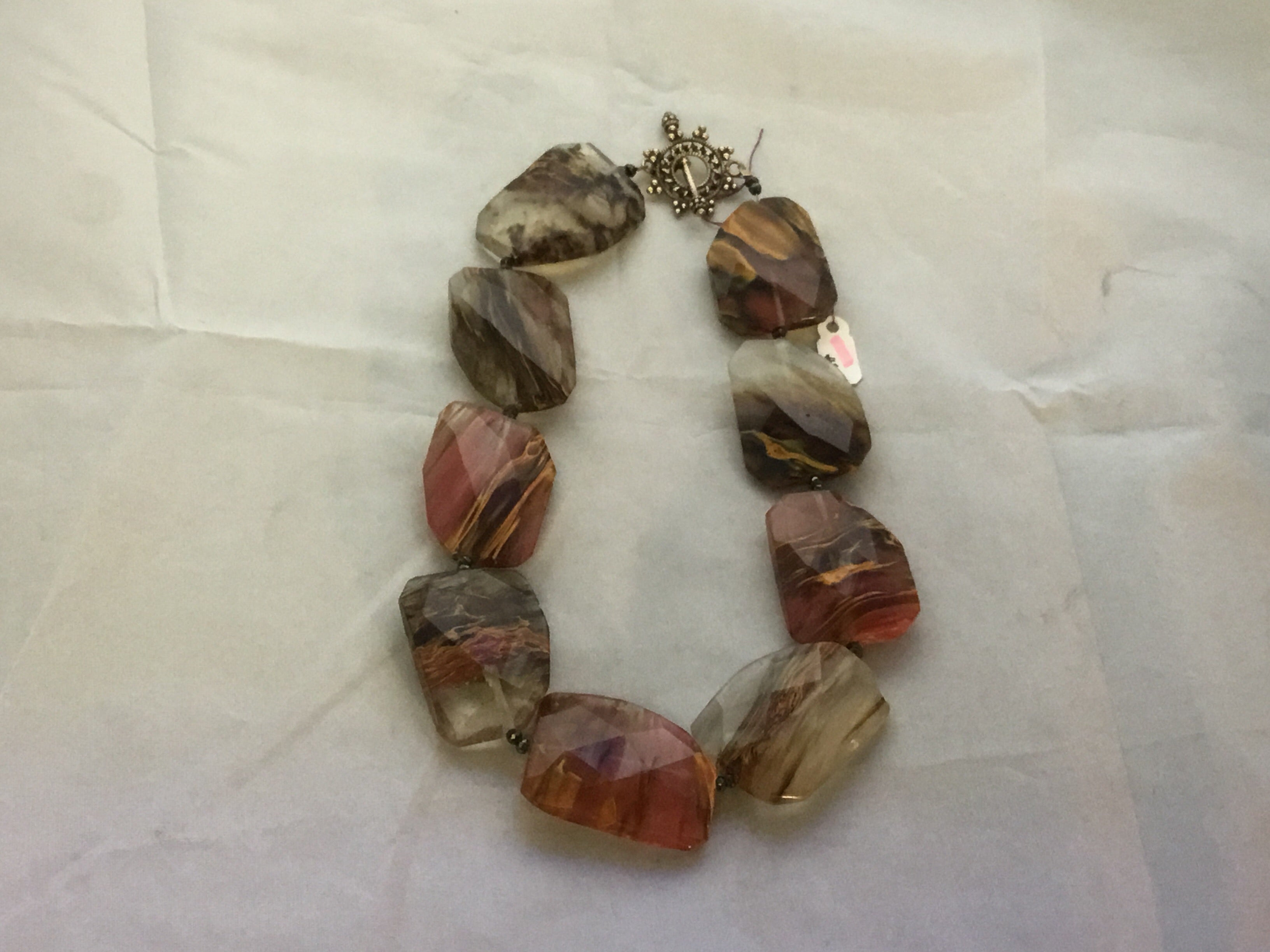Jasper Quartz Necklace