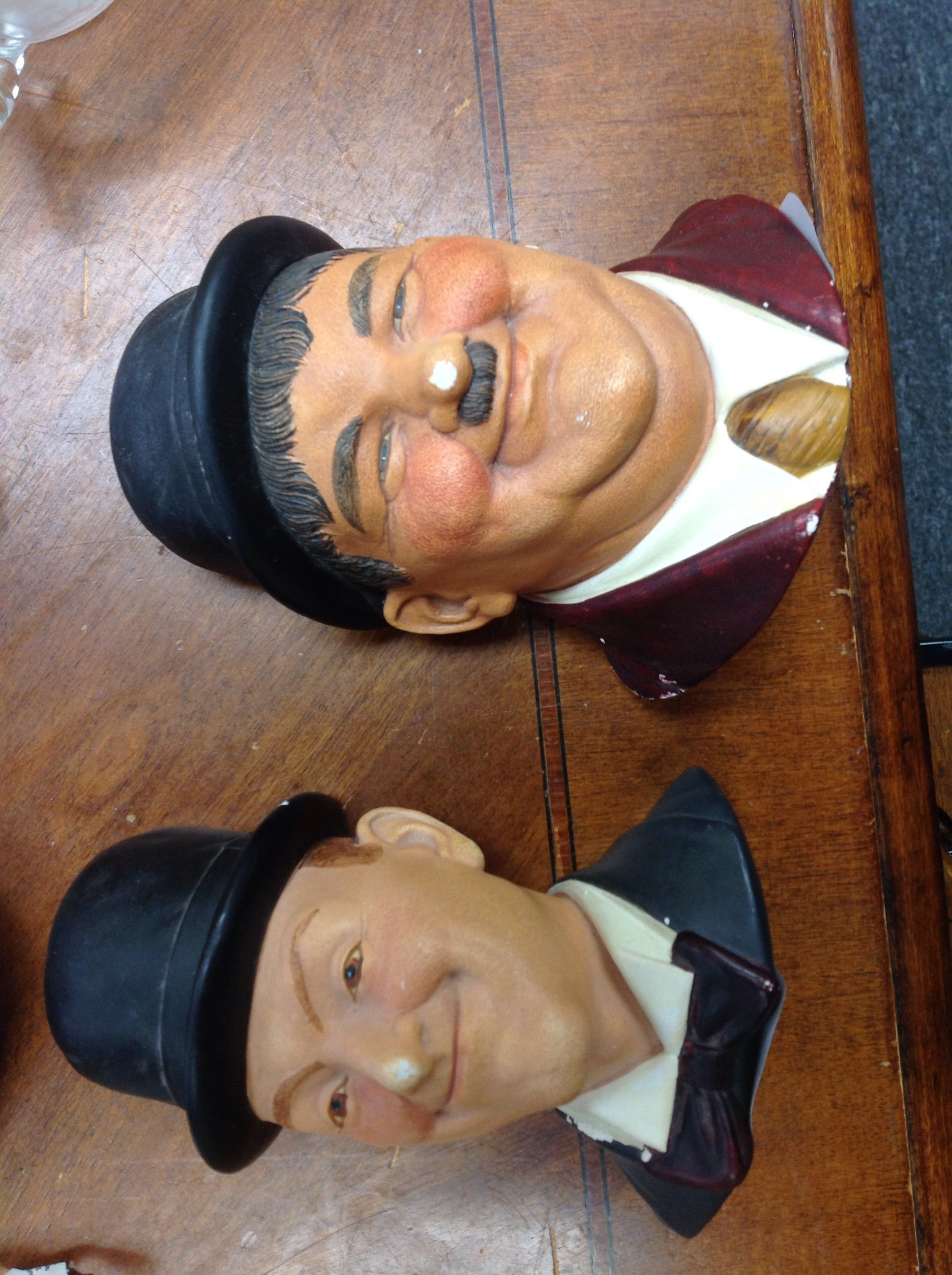 Stan Laurel and Oliver Hardy from Legend Products