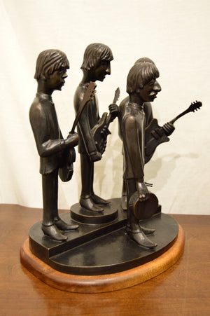 """The Beatles"" Bronze Sculpture by Philip Spanier"