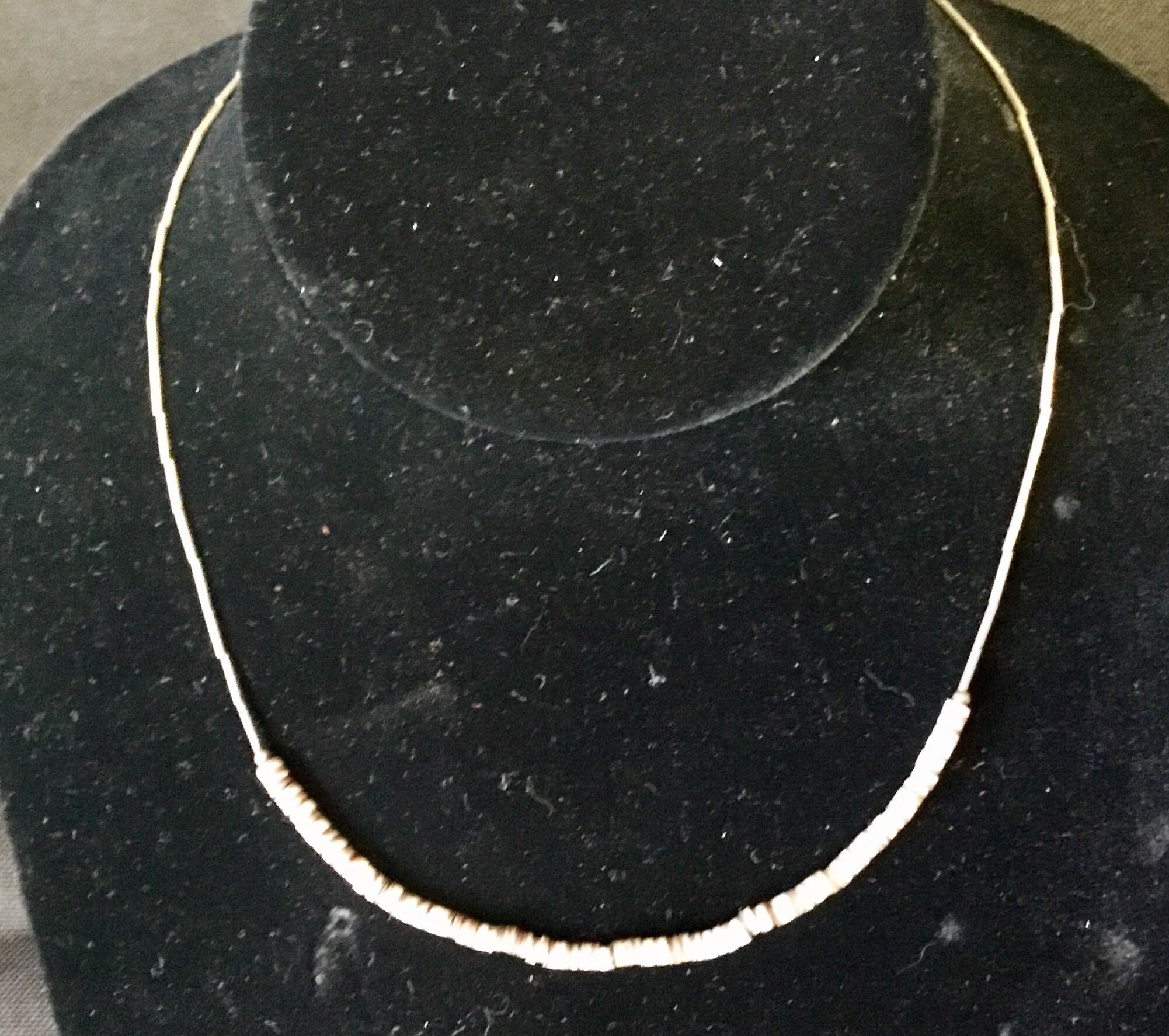 "15"" Shell necklace"
