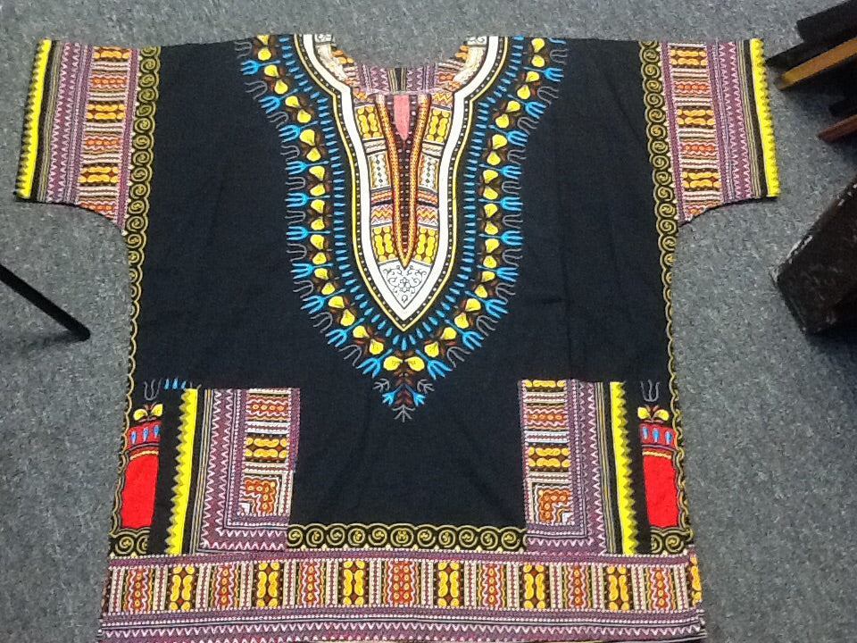 Authentic African Male Shirt - Caftan style Dashiki