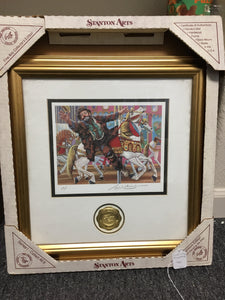 Stanton Arts Emmet Kelly Jr Circus Collection Lithograph Artist's Proof in Box