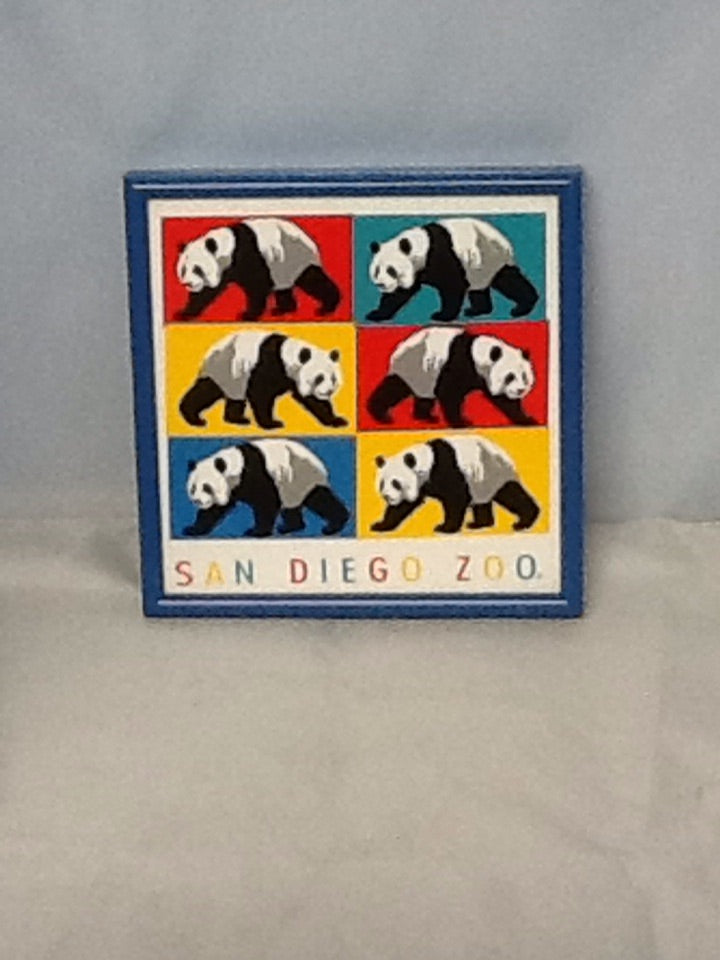Framed Decorative Tile from San Diego Zoo