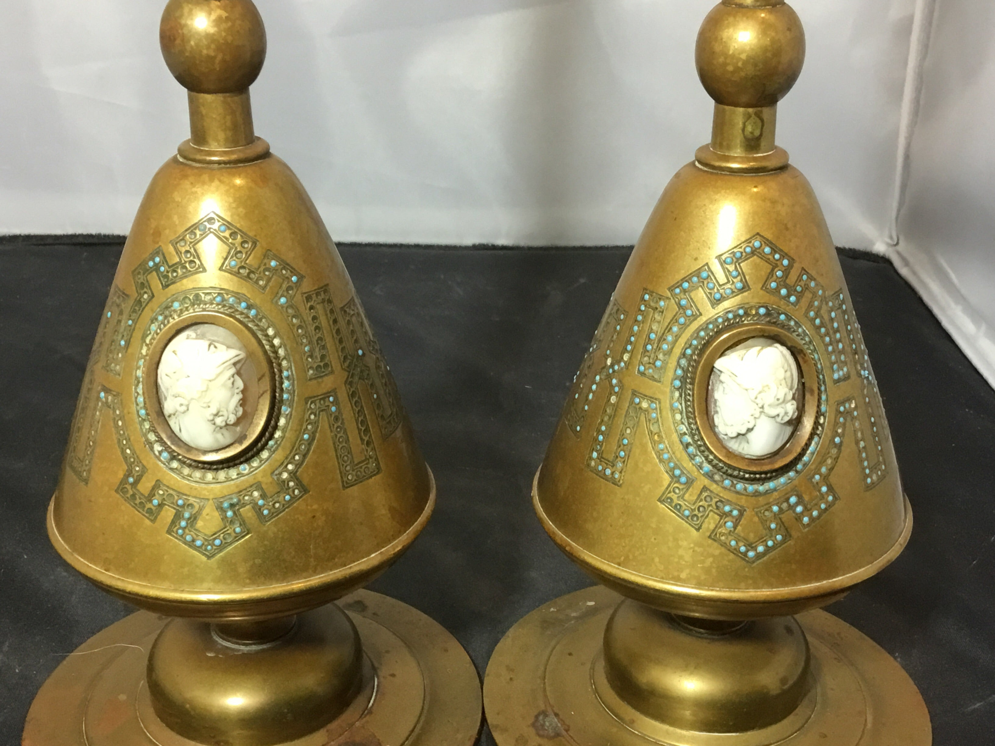 "Antique ""Pericles"" Candle Holders (Set of 2)"