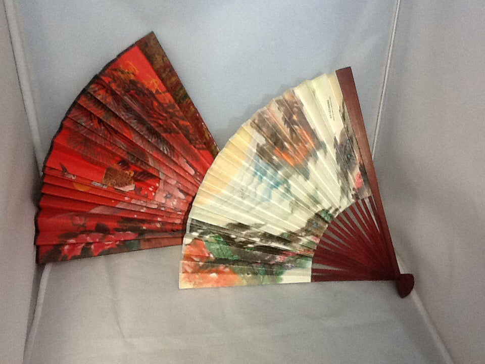 Decorative Chinese Fans - set of 2