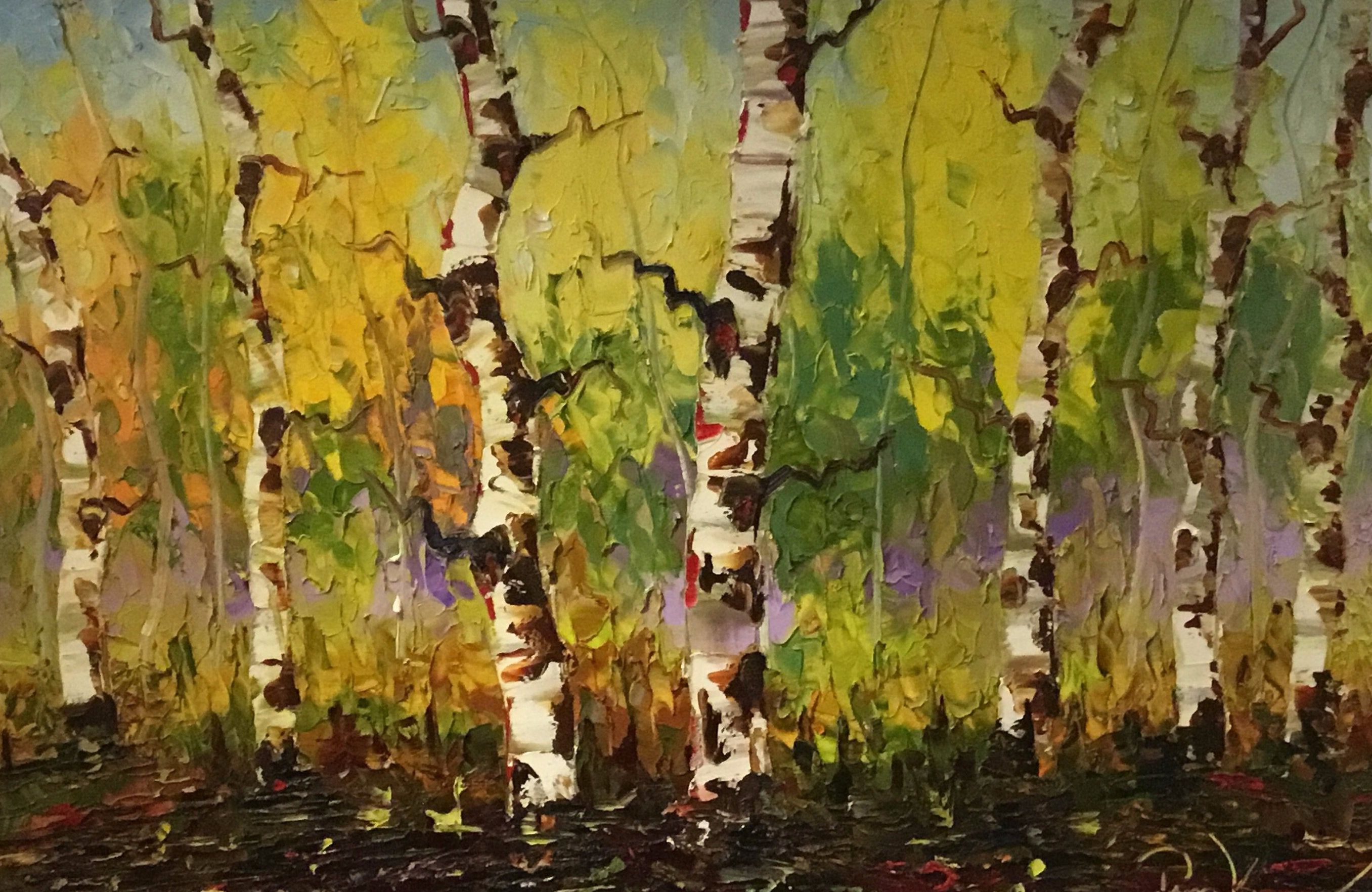 """Autumn Aspens"" - Tim Kenney"
