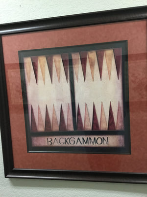 Framed Chess and Backgammon Boards, Set of 2 - kim