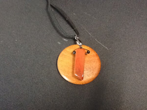 Handcrafted Necklace of Red Jasper by Steve Cipolla