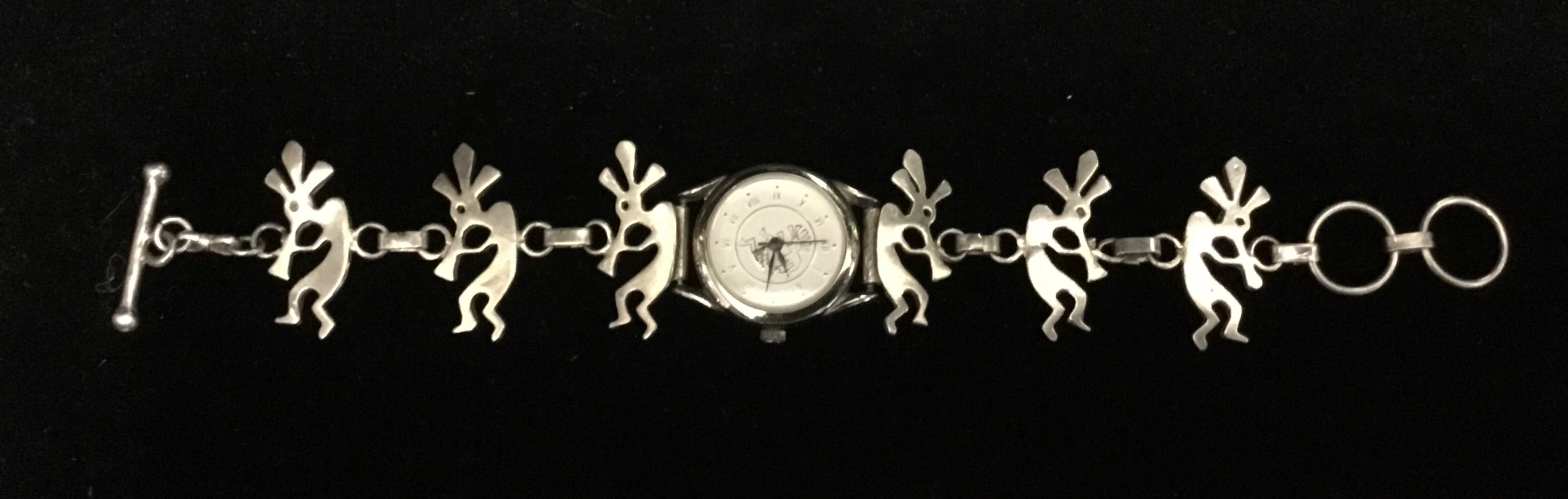 Stainless Steel Kokopelli Watch
