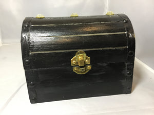 Wooden Treasure Chest - E