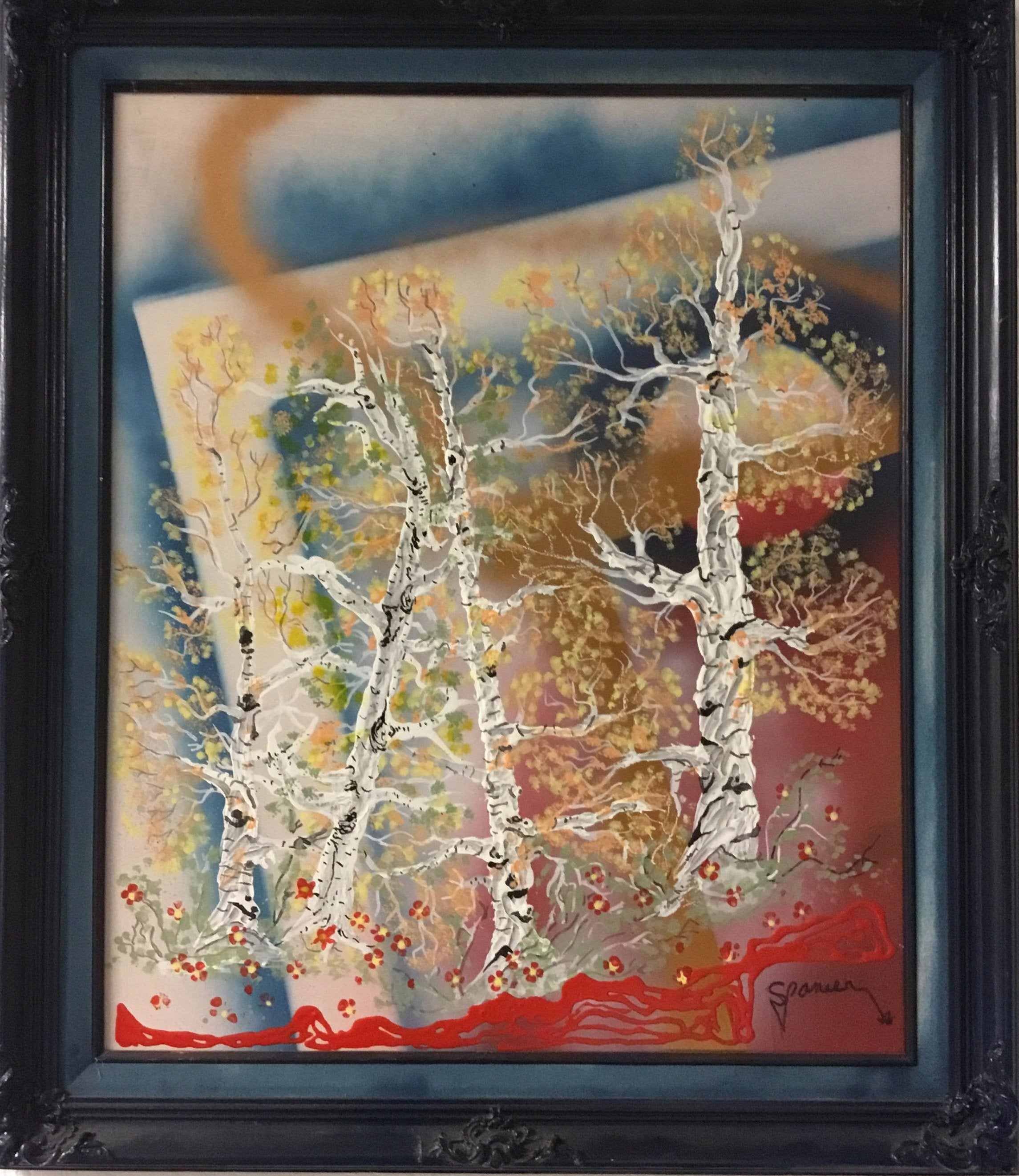 """Aspens in Abstraction II"" - Phil Spanier"