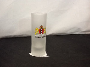 Frosted Amsterdam Shot Glass