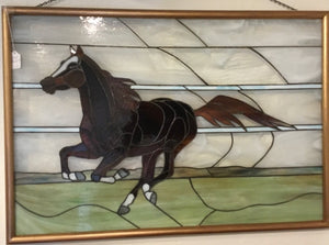 """Horse"" - Jillian Spencer, Stained Glass"