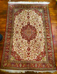 Handmade Authentic Egyptian Silk Rug