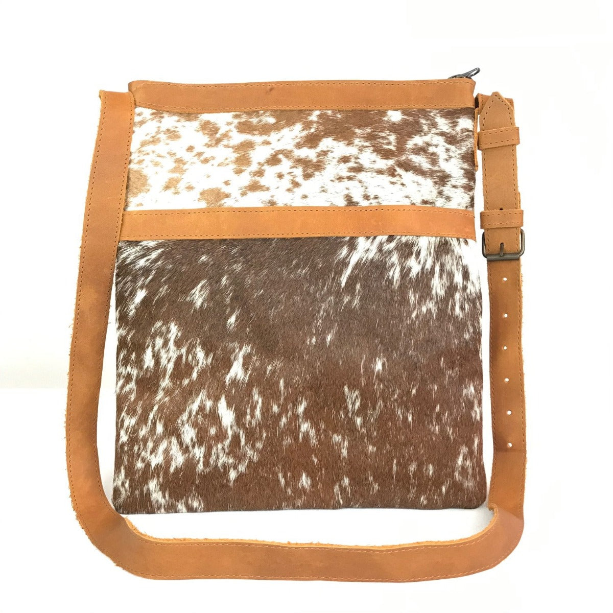 Mensajero Brown Cowhide Hair Cross Body