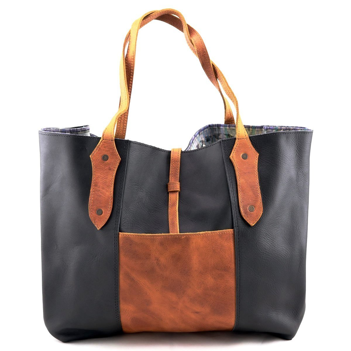 Antigua Leather Tote - etnico culture