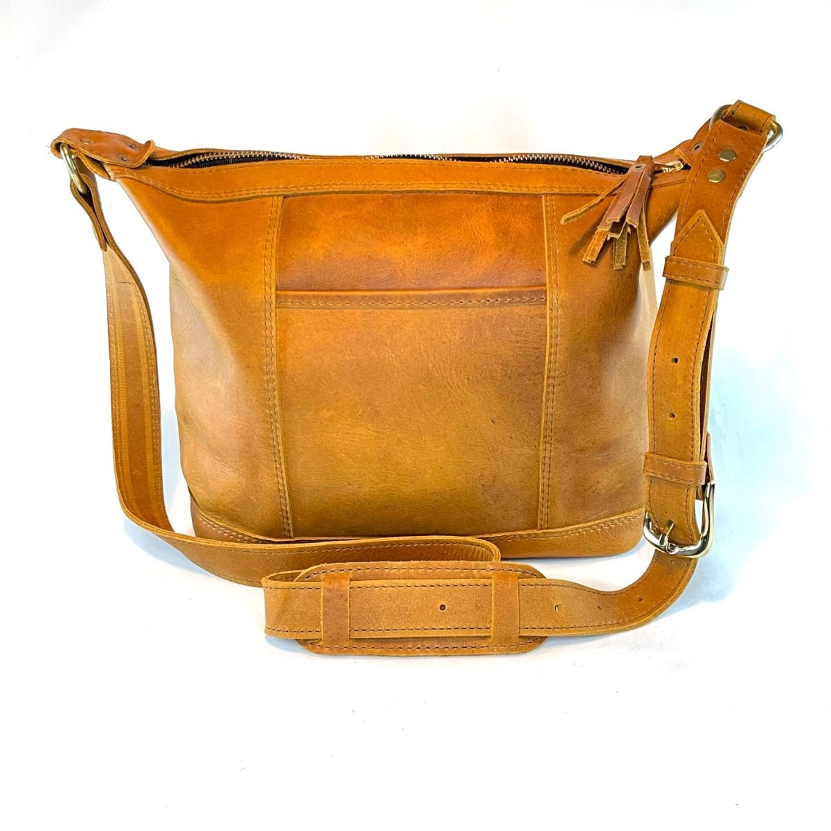 Canela Tan Leather Mini Bag