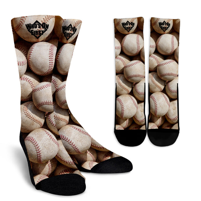 who's on first crew socks bucket o' balls