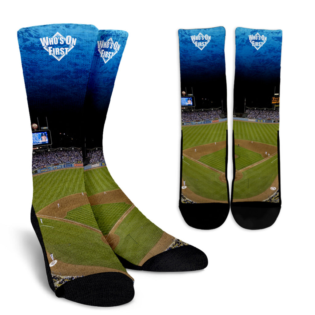 who's on first the stadium crew sock