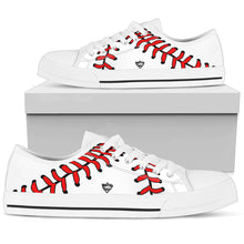 who's on first women's canvas low top shoe keep it simple white