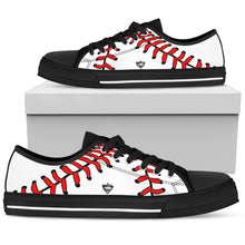 who's on first women's canvas low top shoe  keep it simple black