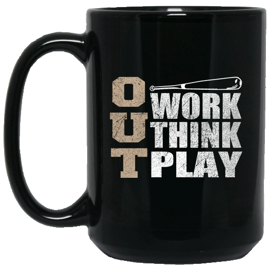 who's on first 3 outs 15oz coffee mug black