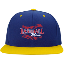 Baseball Mom, Flat Bill Snap Back