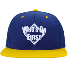 Who's On First, Flat Bill Snap Back