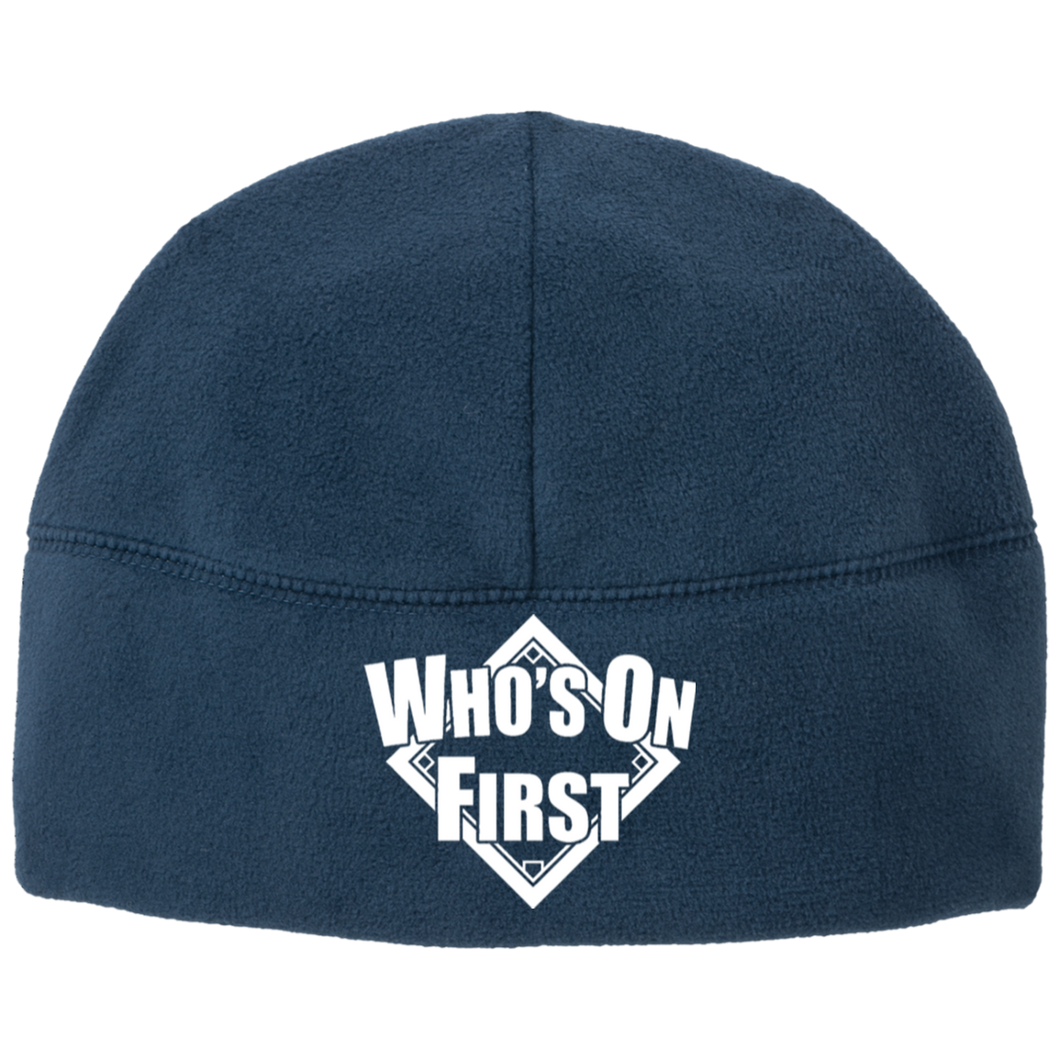 Who's On First Logo, Beanie