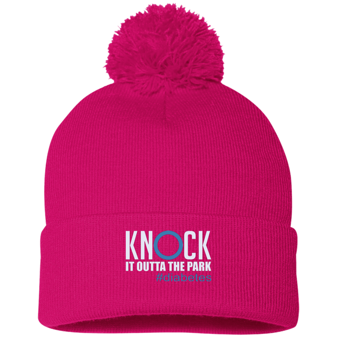 Knock It Outta The Park, Pom Pom Knit Cap