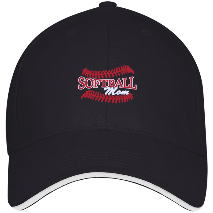 Softball Mom, Structured Cap
