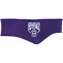 Thou Shalt Not Steal headband from Who's On First purple