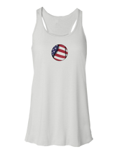 whos on first american baseball flowy tank white