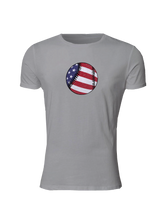 whos on first american baseball slim fitted shirt light grey
