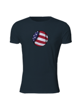 whos on first american baseball slim fitted shirt midnight navy