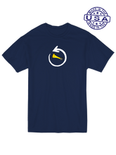 whos on first around the horn baseball shirt navy