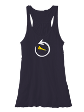 whos on first around the horn womens flowy tank midnight