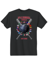 who's on first baseball around the world youth t-shirt black
