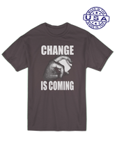 who's on first unisex t-shirt made in usa change is coming lefty asphalt