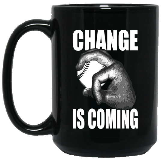 who's on first change is coming 15oz coffee mug black